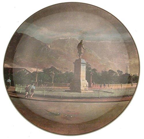 Royal Doulton afrikanischen Serie Teller-Van RIEBEECK Statue Kapstadt-d6362-cp725 -