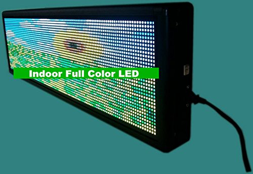 Gowe Innen Full Color LED Dot Matrix programmierbar beweglichen Text Display Full-dot-matrix-display