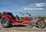 Trikes - Unterwegs auf drei Rädern (Tischkalender 2019 DIN A5 quer): Ein Motorisiertes Dreirad (Monatskalender, 14 Seiten ) (CALVENDO Mobilitaet)