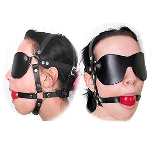 Loveours Harness Kopfgeschirr Knebel Gag Fetish Face - Für Aufblasbare Mund-knebel Sex