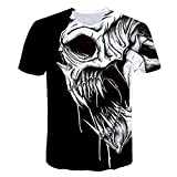 XDP Camiseta para Hombre Moda de Verano para Hombre Camiseta de Manga Corta...