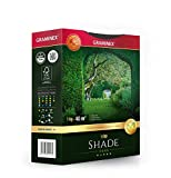 Graminex Shade Grass Seeds, Premium, Professional's Choice for Shady Areas, Vivid Evergreen, Low