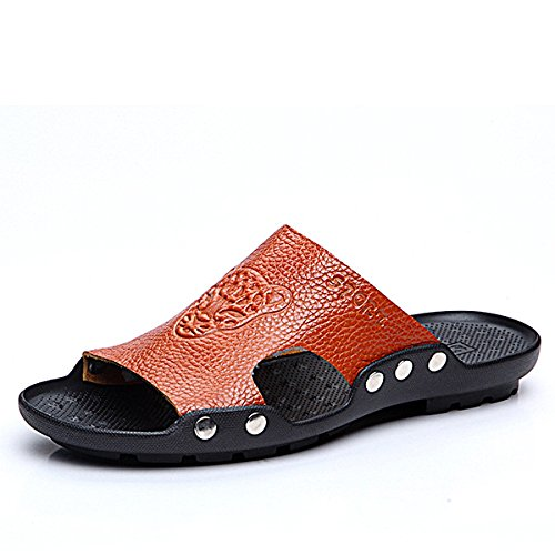 c1355ddf4 HITSAN INCORPORATION S-4066 Fashion Summer Men Leather Sty.
