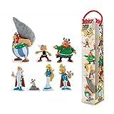 Plastoy- Figurine-Tubo Astérix-Le Village Gaulois-Lot de 7, 70385