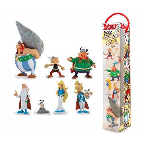 Plastoy Figurine-Tubo Astérix-Le Village Gaulois-Lot de 7, 70385