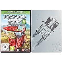 Farming Simulator 17 - Steelbook Platinum - PC [Esclusiva Amazon]
