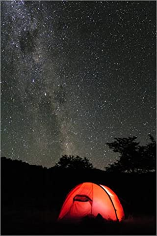 Poster 40 x 60 cm: Tent under the Milky Way
