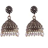 Ganapathy Gems Metal Jhumki Earring for ...