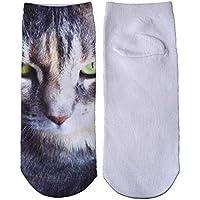 5pcs / femmes fhcgwz mode 3d pour les chaussettes chaussettes chaussettes de chaussettes de coton chaussettes été minces à court 8ee2fb