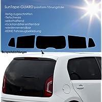 3D-vorgewölbt Tönungsfolie passgenau schwarz 15/% Opel Zafira B 07//05-12//11