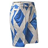 "Royal & Awesome Pantaloni corti da Golf Shorts, Uomo, Golf Shorts, St Antrews, 32"" Waist - 81 cm"