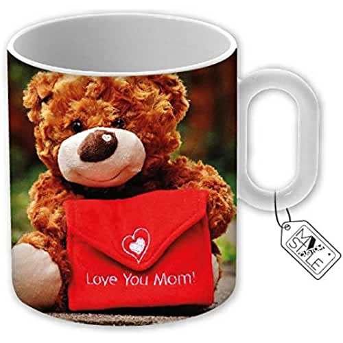 taza del dia de la madre My Custom Style © Taza de cerámica, modelo mamá día Love You Mom. Producto original como regalo, o para hacer único cada momento de tu día