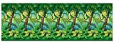 Jungle Trees Plastic Backdrop (4 Ft. X 30 FT.) (Group Cross Culture VBS 2017)