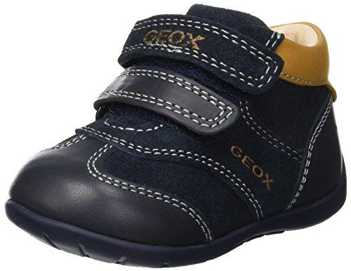 Geox Baby Jungen B Kaytan A Sneaker, Blau (Navy/Biscuit Cf45b), 22 EU (Sneaker Jungen Braune)