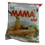 Mama - Asia Nudeln Huhn Geschmack - 30er Pack (30 x 55g) - 1 Karton Thai Fertiggericht