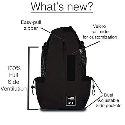 K9 Sport Sack | Dog Carrier Backpack for Small and Medium Pets | Front Facing Adjustable Dog Backpack Carrier | Fully… 3