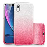 ESR Coque iPhone XR Rose, Coque Silicone Paillette Strass Brillante Bling Bling...