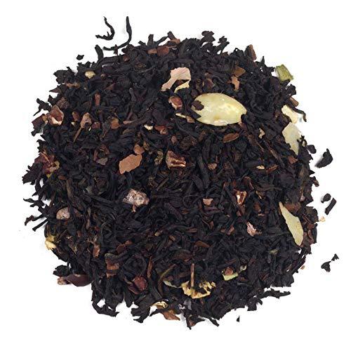 Aromas de Té - Té Negro Praliné Potente Antioxidante Natural/Té Negro Estimulante y Regulador de Azúcar Praliné Cultivo Ecológico/Té Negro Ecológico, 50 gr