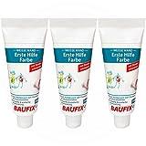 3 x Baufix - Erste Hilfe Farbe Entfernung von Farbe an weißen Wänden 200 ml