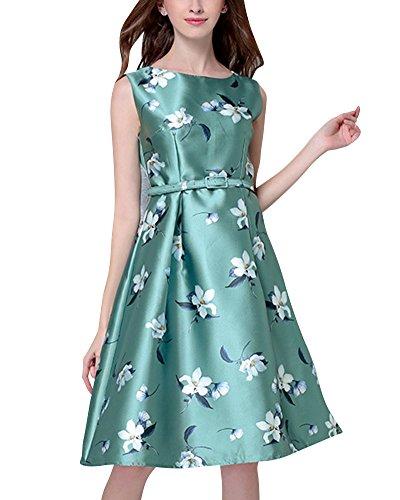 Abendkleid 50S Rockabilly Kleid Damen Festliches Kleid Partykleider ...