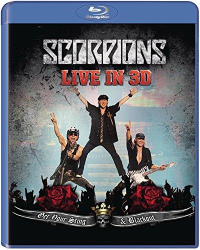 a9afadb36b9 Scorpions   Get Your Sting   Blackout Live in 3D  Reino Unido   Blu