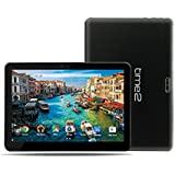 Time2 : 10 Inch Tablet Pc, Android 7.0 Nougat, 3G Tablet Dual Sim, Gms Google Certified, Hd IPS Screen, GPS, WiFi, Phablet, Up To 256Gb Sd Card Storage, 5Mp Camera, 10.1 Android Tablets *2018 Model*