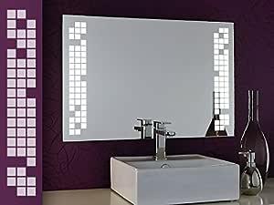 Specchio Bagno Bianco.Bricode Sued Specchio Bagno Illuminato Play Cq Bagno Specchio