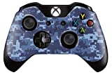 Xbox One Controller Skin Sticker Design Aufkleber - Blau Digital Camo