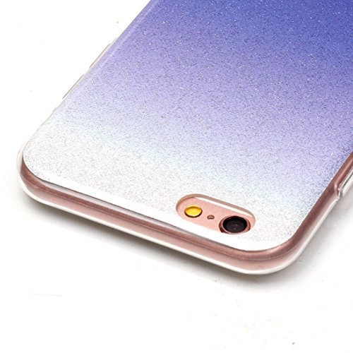 Wkae Case & Cover Pour iPhone 6 &6s IMD Couleur Fades Glitter Powder Housse de protection TPU ( SKU : IP6G8686S ) IP6G8686D