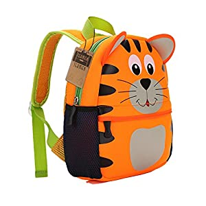 51CdxucQlhL. SS300  - Mochila para niños, Animal Mochila Escolar TEAMEN® Toddler Kids Mochila Escolar para niños pequeños, Mochila para 2-5…