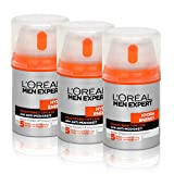 3x Loréal Men Expert Hydra Energy Feuchtigkeitspflege Anti-Müdigkeit 50ml