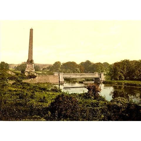 De Islas Británicas fotografía Irlanda, río BOYNE en COUNTY LOUTH c1890-1900 sobre reproducción impresa satén 200gsm A3 tarjeta del arte