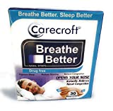 Carecroft Anti snoring nasal strips for men women nose snore stopper solution remedy