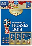 Panini 709951 FIFA World Cup Russia 2018 Collector's Sticker Starter Pack - Hardback Album and 3 Booster