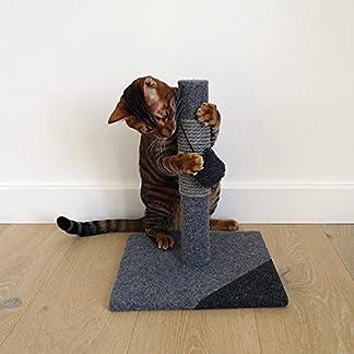 Other Catwalk Charcoal Felt Cat Post 35.5x29x29cm, clear 8