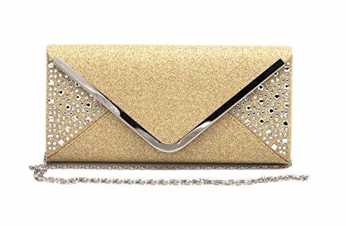 Hello Bag!, Poschette giorno donna Oro