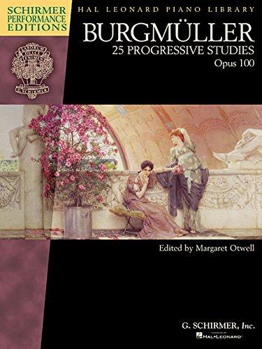 25 Progressive Studies, Op. 100 Piano (Schirmer Performance Editions)