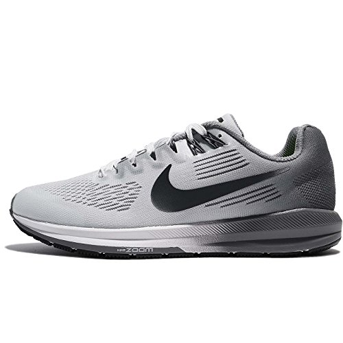 detailed look 03301 ca177 Nike W Air Zoom Structure 21 Chaussures de Course, Gris - Gris - Gris,