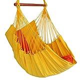 Hängestuhl Hängesessel Amarela gelb aus 100 % Baumwolle Denana