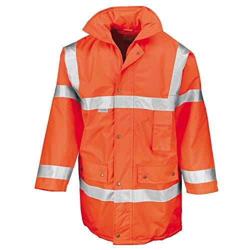 Ergebnis Safeguard Jacke (EN471 Klasse 3) Fluorescent Orange 2XL Limited Snowboard-jacke