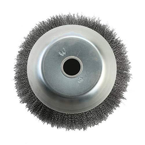 poncherish testa Spazzola diserbamento per decespugliatore in acciaio filo ruota spazzola Disco 25.4x 200mm paesaggio Coppa irrigazione macchinari accessori