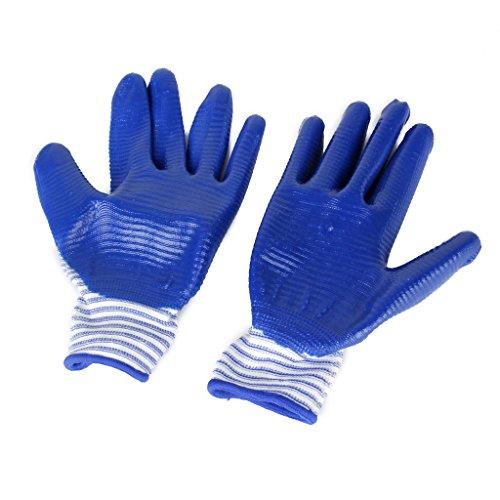 Gants de Protection Anti Morsure pour Hamster Bleu