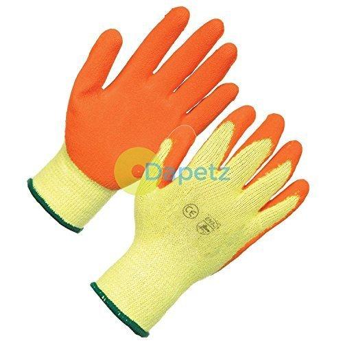 dapetz 1x látex Albañiles Guantes Grande Calidad PPE para construcción y uso general