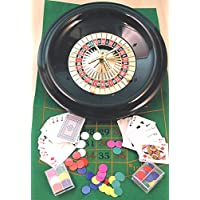 Roulette & Blackjack set - 40cm. wheel, 00612 by A Kent & Cleal game