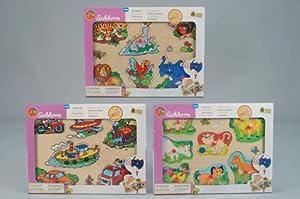 Eichhorn 3620 - Puzzle de Madera, diseño de Animales de Granja