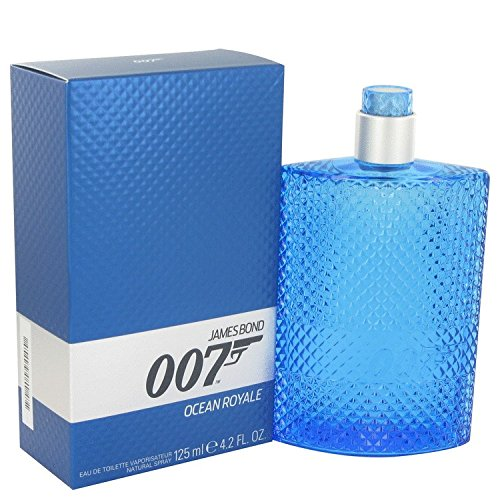 James Bond Beauty Gift 007 Ocean Royale Cologne 4.2 oz Eau De Toilette Spray for Men by James Bond