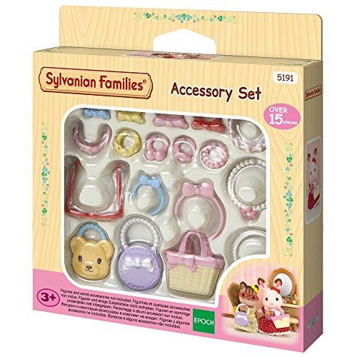 Sylvanian-Le Set Mode Families Mini-poupées et Accessoires, 5191