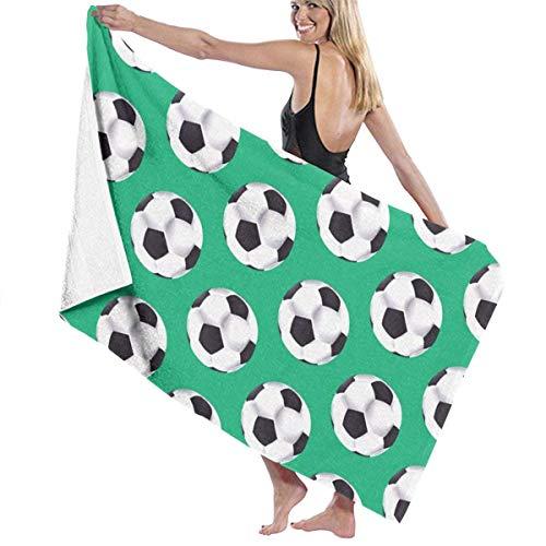 sd4r5y3hg Luxury Oversized Beach Towels, Women's Bath Towel Wrap - Soccer Travel Waffle Spa Beach Towel Wrap for Girls 31\
