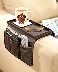 Great ideas luxury faux leather tv remote control handset for Fauteuil divan