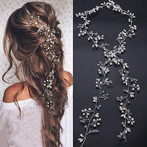 Hair Jewelry Imported From Abroad Vintage Metal Leaves Pearl Hairpin Clips Girls Hair Accessories Hairpins Female Haar Accessoires Accesorios Para El Cabello #15 Jewelry Sets & More